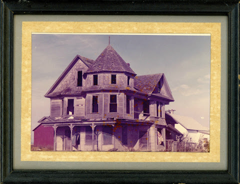 Vintage Photograph Abandoned Property Skagit County The Ball House