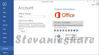 cara aktivasi microsoft office 2013 permanent terbaru