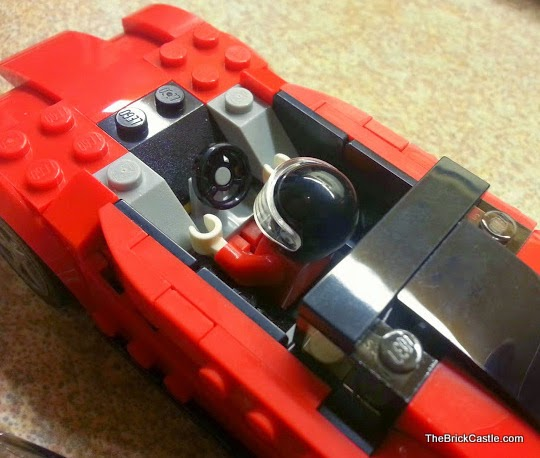 LEGO vehicles Ferrari set 75899 LaFerrari model car cockpit