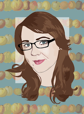 leah-harrison, fruit-print, peach-print, apple-print, leah-harrison-journalist,
