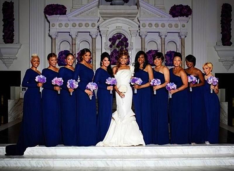 Celebrity Wedding-Monica and Shannon Brown ~ Wedding Bells