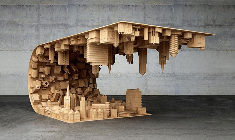 Mesa de café Inception por Stelios Mousarris