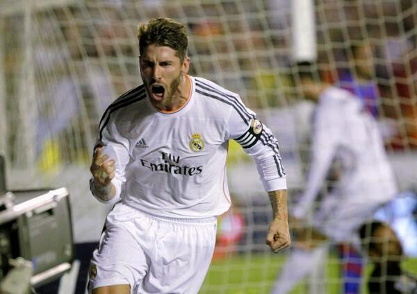 Sergio Ramos (0-2) Bayern 0 - Real Madrid 4 - 29/04/2014 Real Madrid Clasificado para la Final de Champions League. Guardiola la jugará en la PlayStation.