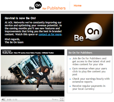 beon goviral network para moviles o smarphones sirve?