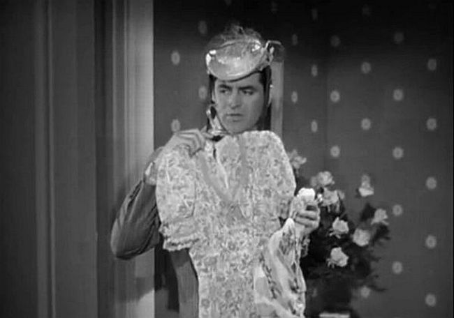 cary grant in my favorite wife