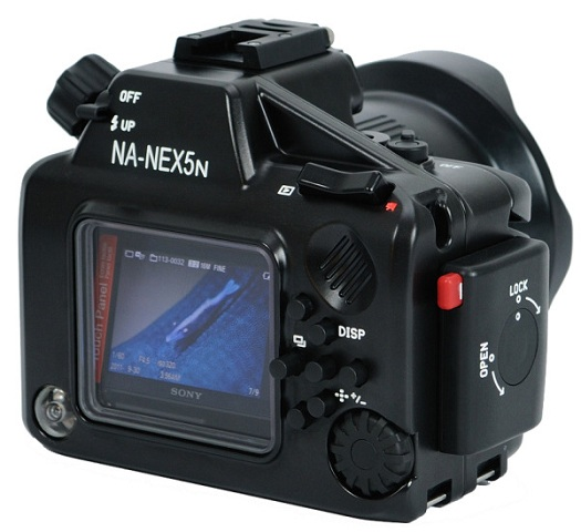 sony nex-5n underwater nauticam housing