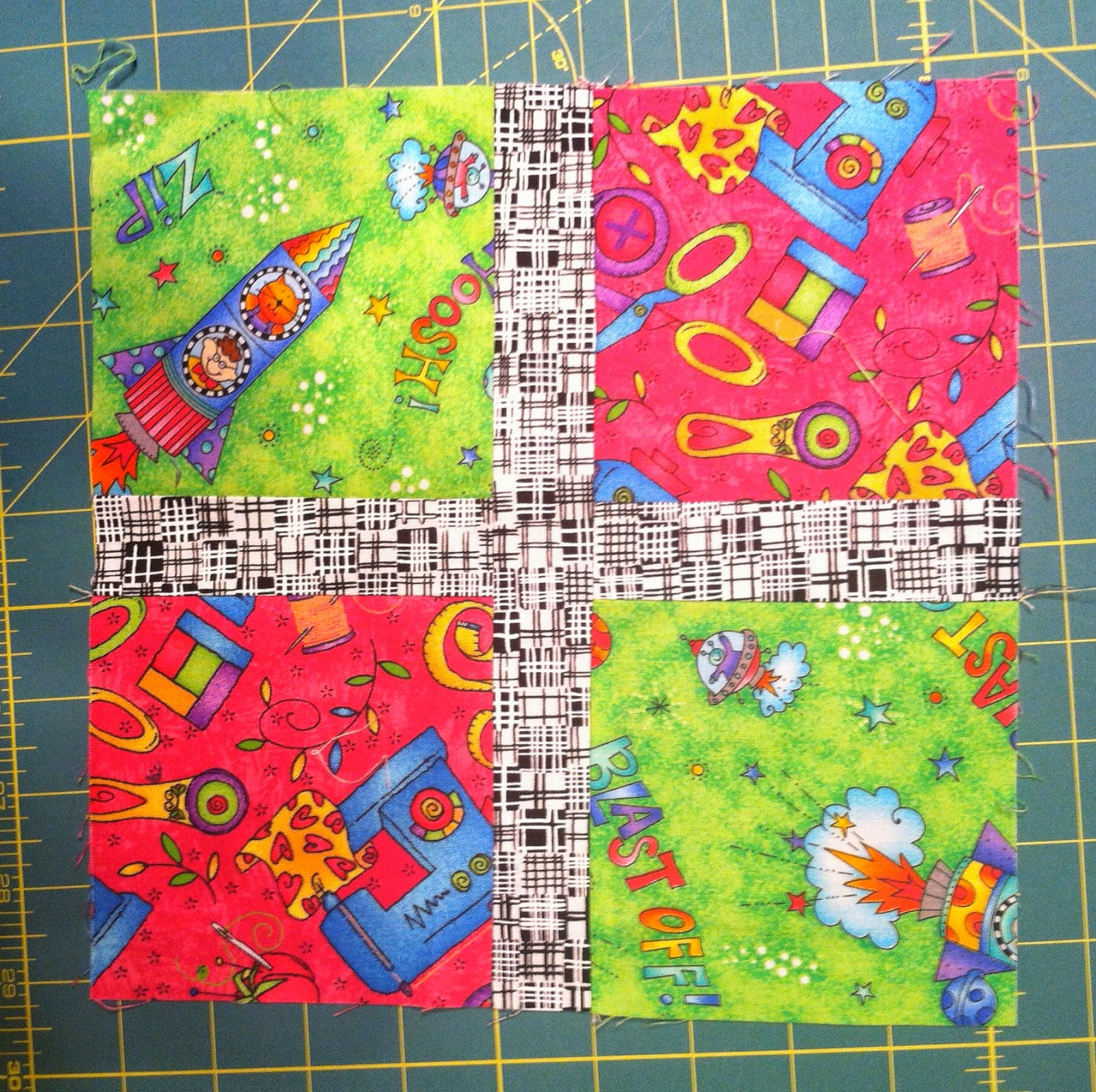 I Spy Quilt - Novelty Fabrics