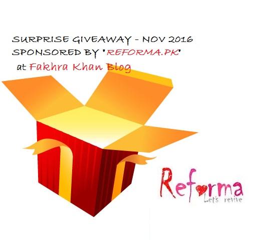 Nov Giveaway