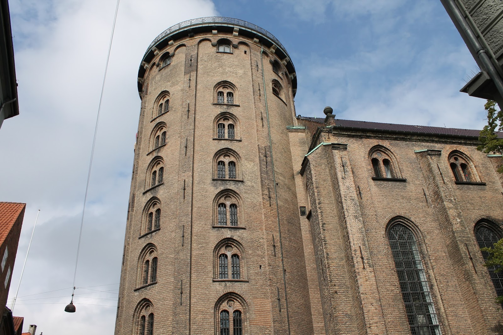 The Round Tower - Copenhagen Travel Post