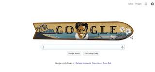 Klik Google, Nongol Kahanamoku, Siapa Dia?