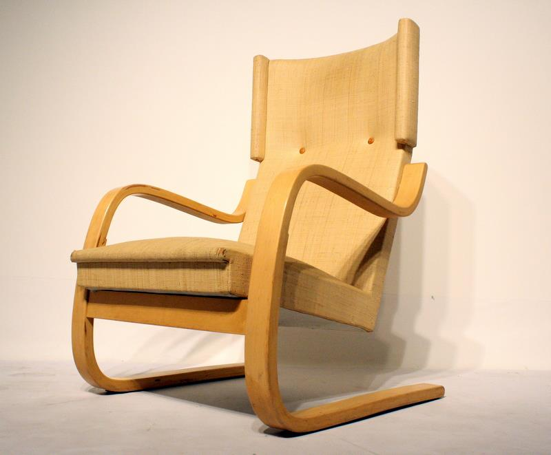 401 Highback Wing Chair By Alvar Aalto