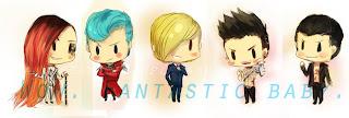 Fantastic Baby: 18 caricaturas da banda Big Bang