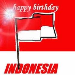 Happy Birthday Indonesia