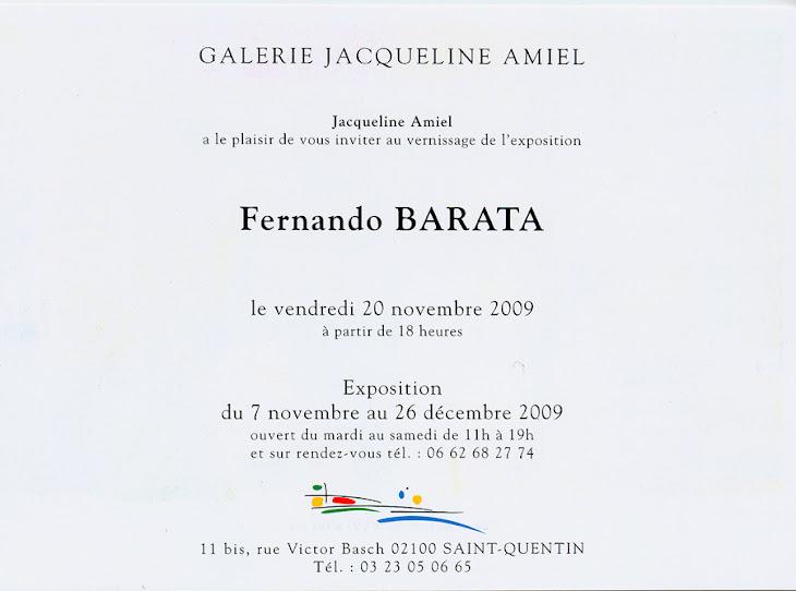 Galerie Jacqueline Amiel, 2009