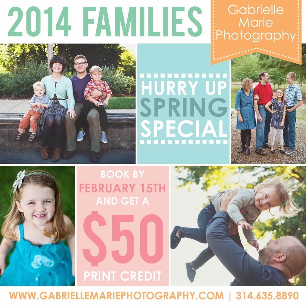 Spring Family Photography in St. Louis, Missouri
