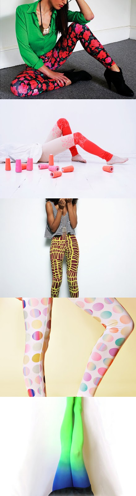 floral legging by Penny