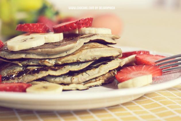 tortitas pancakes banana