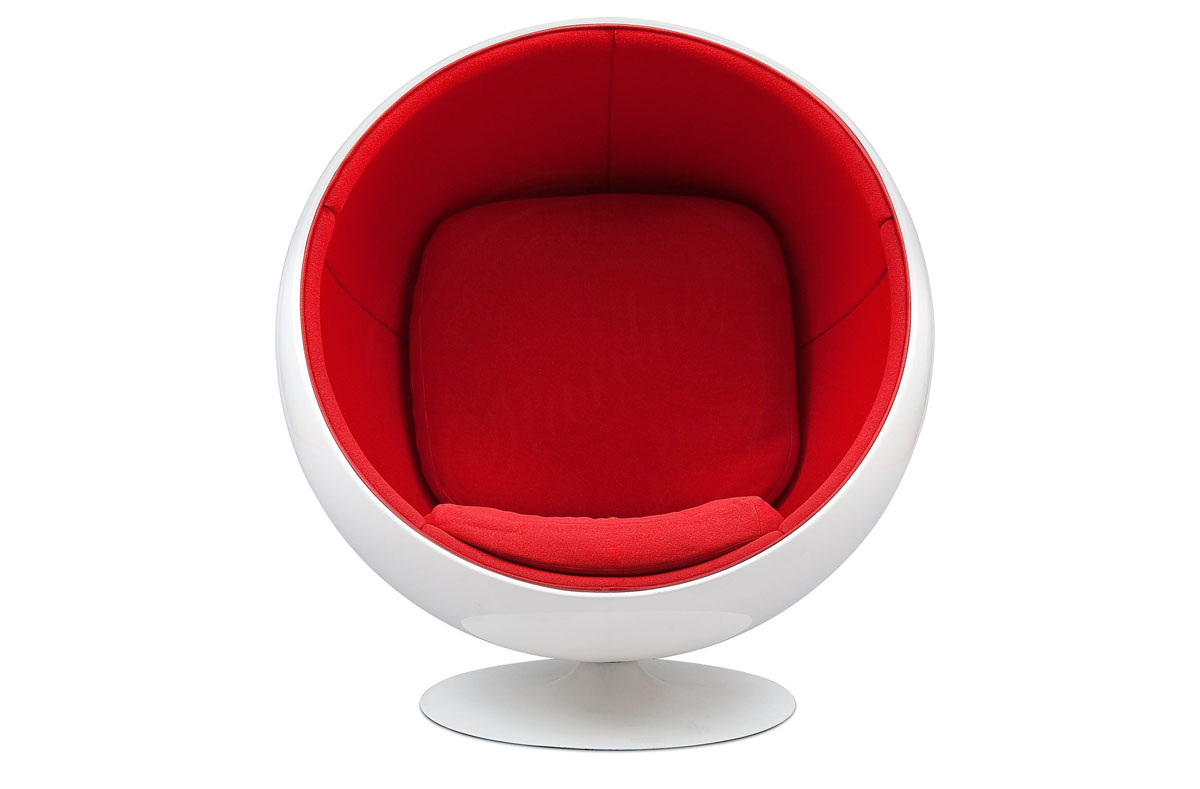 adelta 39 s ball chair from eero aarnio. Black Bedroom Furniture Sets. Home Design Ideas