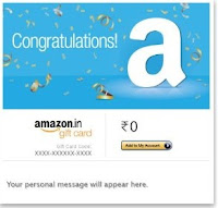 Amazon Email Gift Cards 5% off
