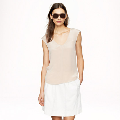 Luxe Silk Crepe Top