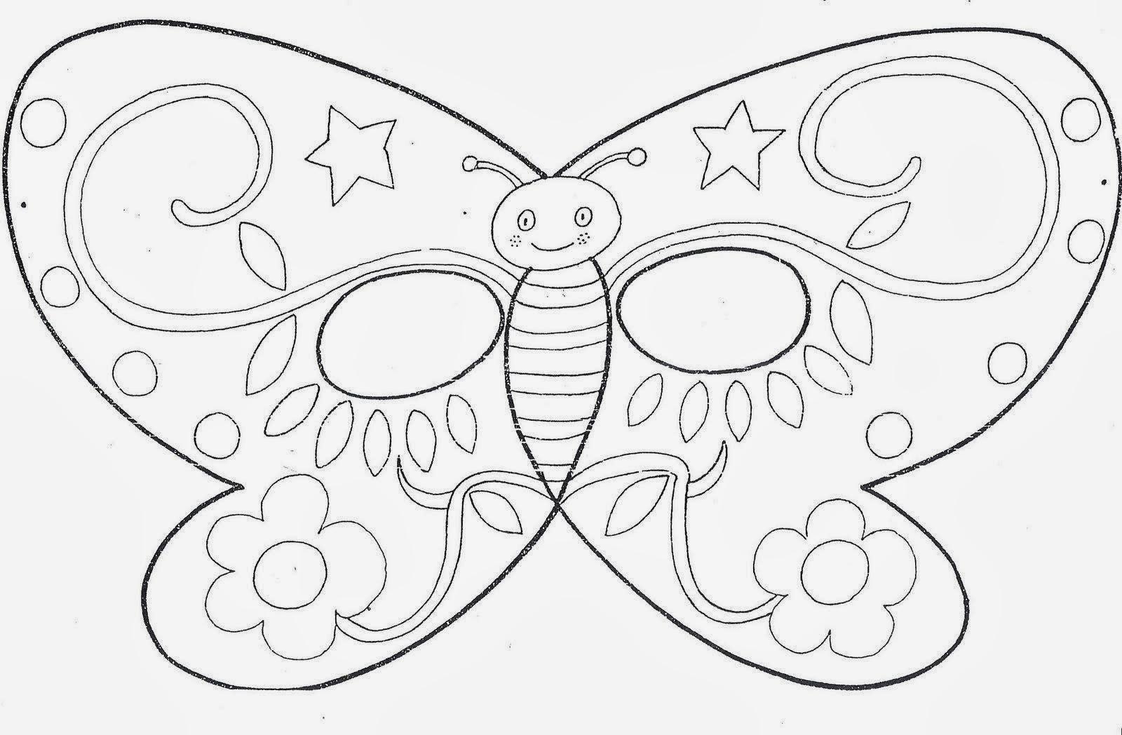 máscara mariposa borboleta buterlfy mask