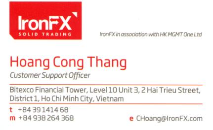Liên hệ hỗ trợ IronFX