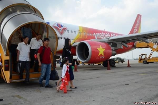 Vietjet mở 2 đường bay mới Pleiku-Hải Phòng và Pleiku-Vinh