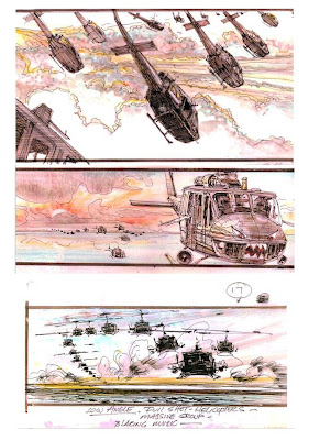 Storyboard - Apocalypse Now -  Ride Of The Valkyries