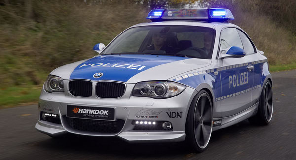 BMW Coupe Police Car