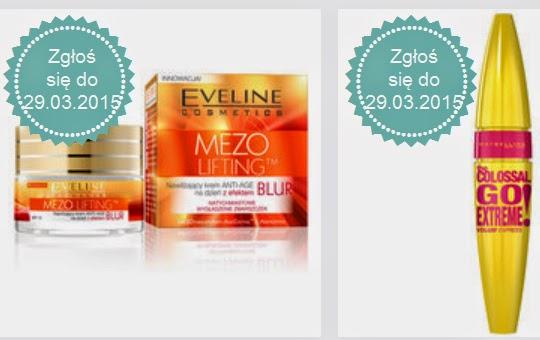 Test kosmetyków EVELINE i Maybelline