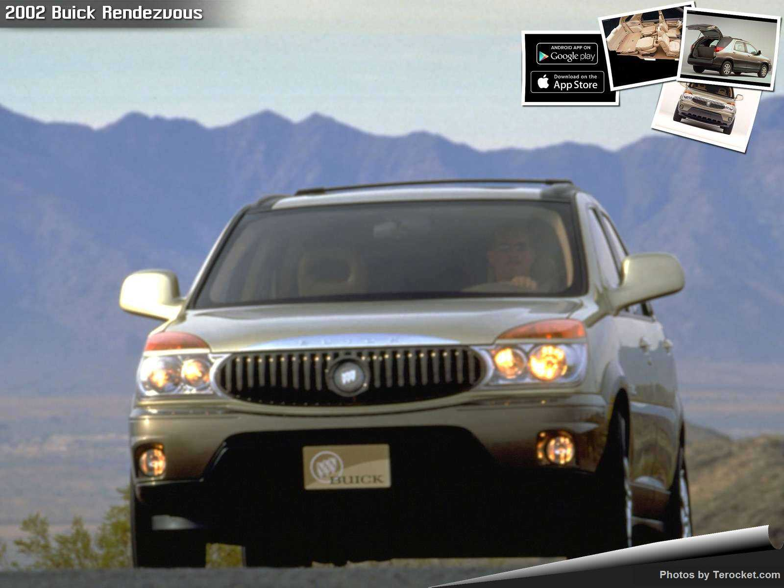 Hình ảnh xe ô tô Buick Rendezvous 2002 & nội ngoại thất