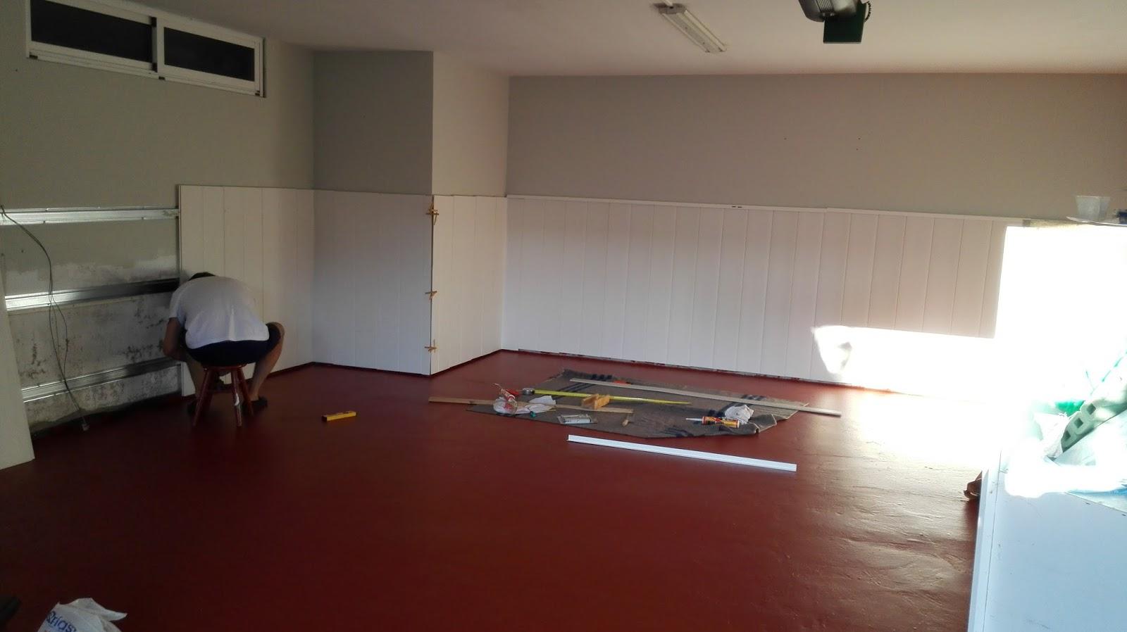 El rinc n de coral de garaje a habitaci n para el coche - Muebles para garaje ...