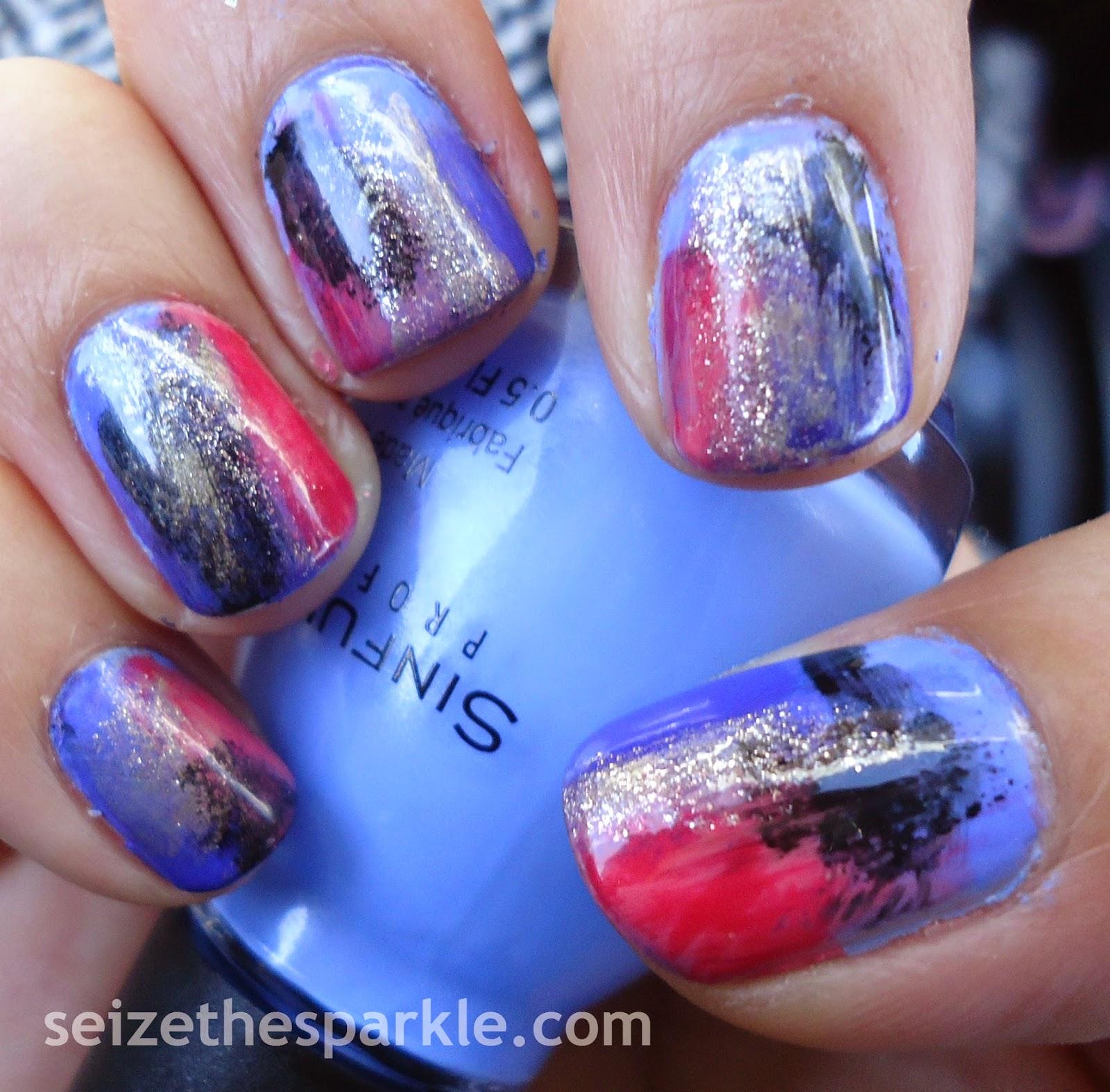 Seriotype Sponging Manicure