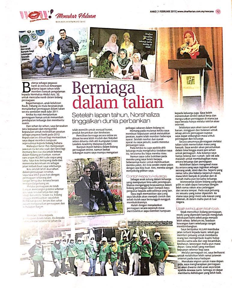 Sinar Harian 1 Feb 2015