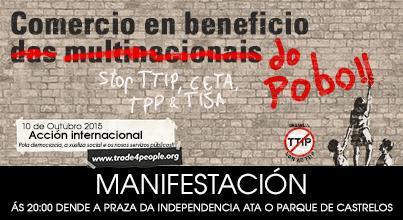 Campaña contra o TTIP