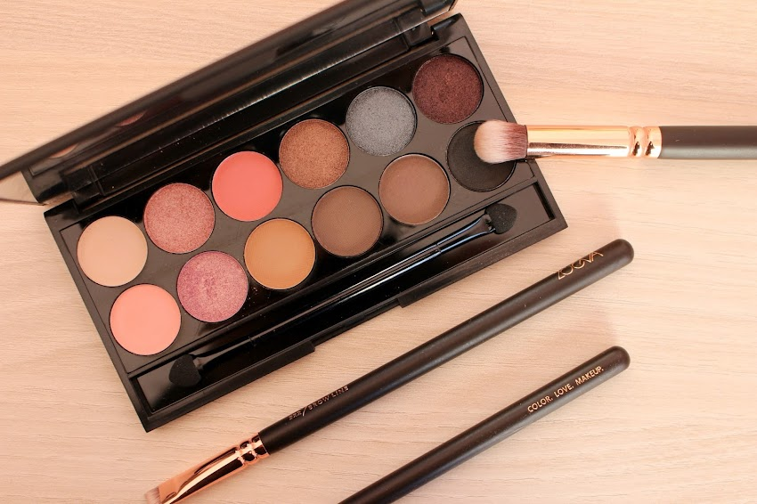 "Un maquillage rose poudré avec la palette ""Oh So Special"" de Sleek ! Idée Makeup"