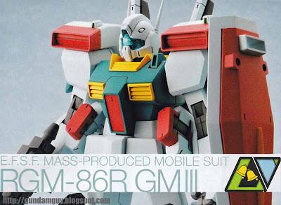 HGUC 1/144 RGM-86R GM III