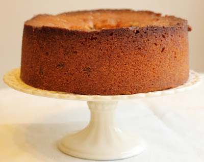 Lemon and pistachio polenta cake (gluten free)