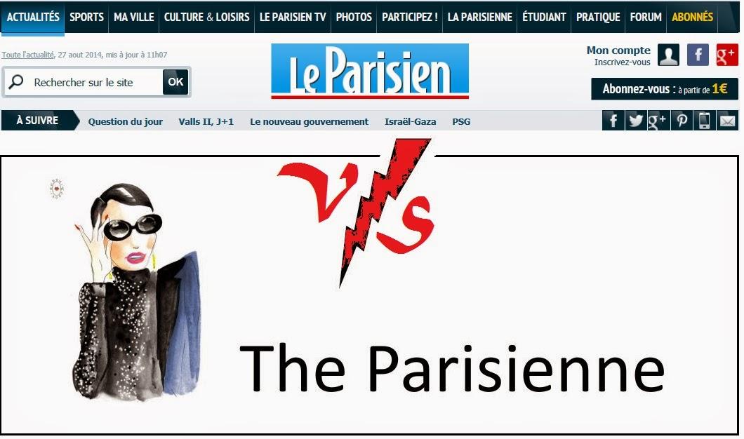 Le Parisien attaque The Parisienne pour contrefaçon : ô scandale !