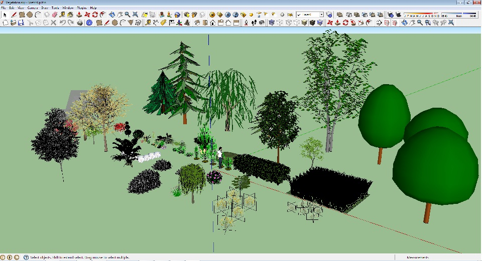 May 2012 Free Object 3d Collections