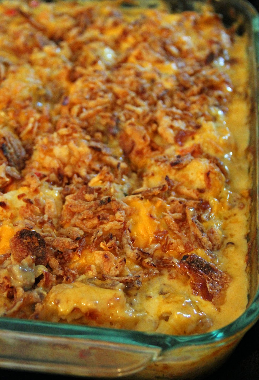 Jo and Sue: Easy Cheesy Tater Tot Casserole
