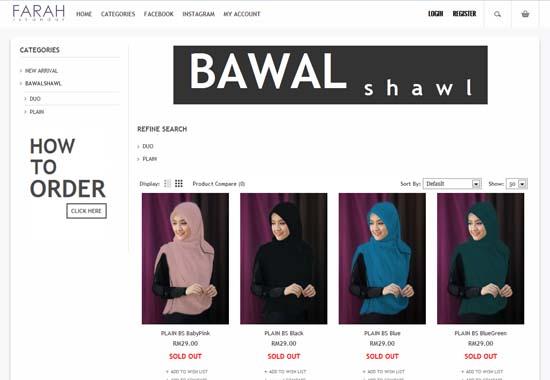 butik online farah lee - farahiskandar