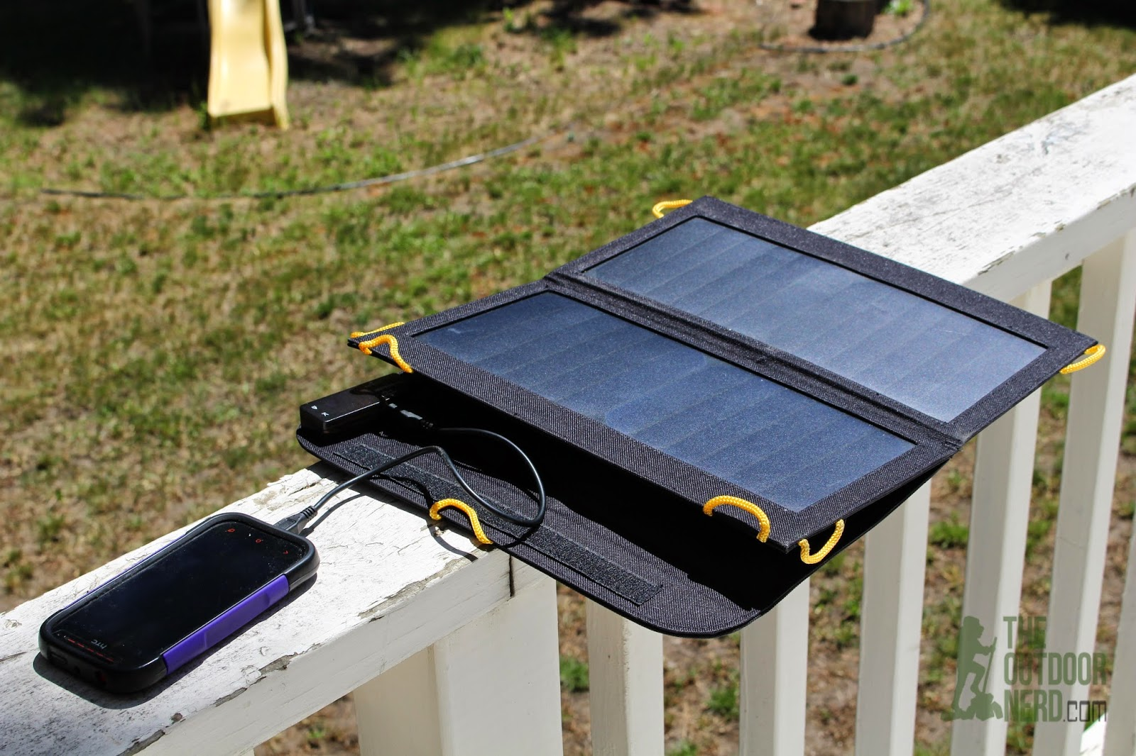 Tablets for Survival: Solar Panel Charging Phone