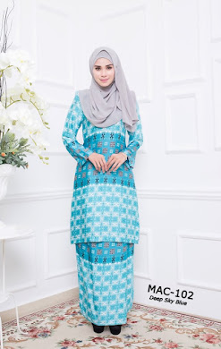 MYESHA AMBERLY COLLECTION - Deep Sky Blue