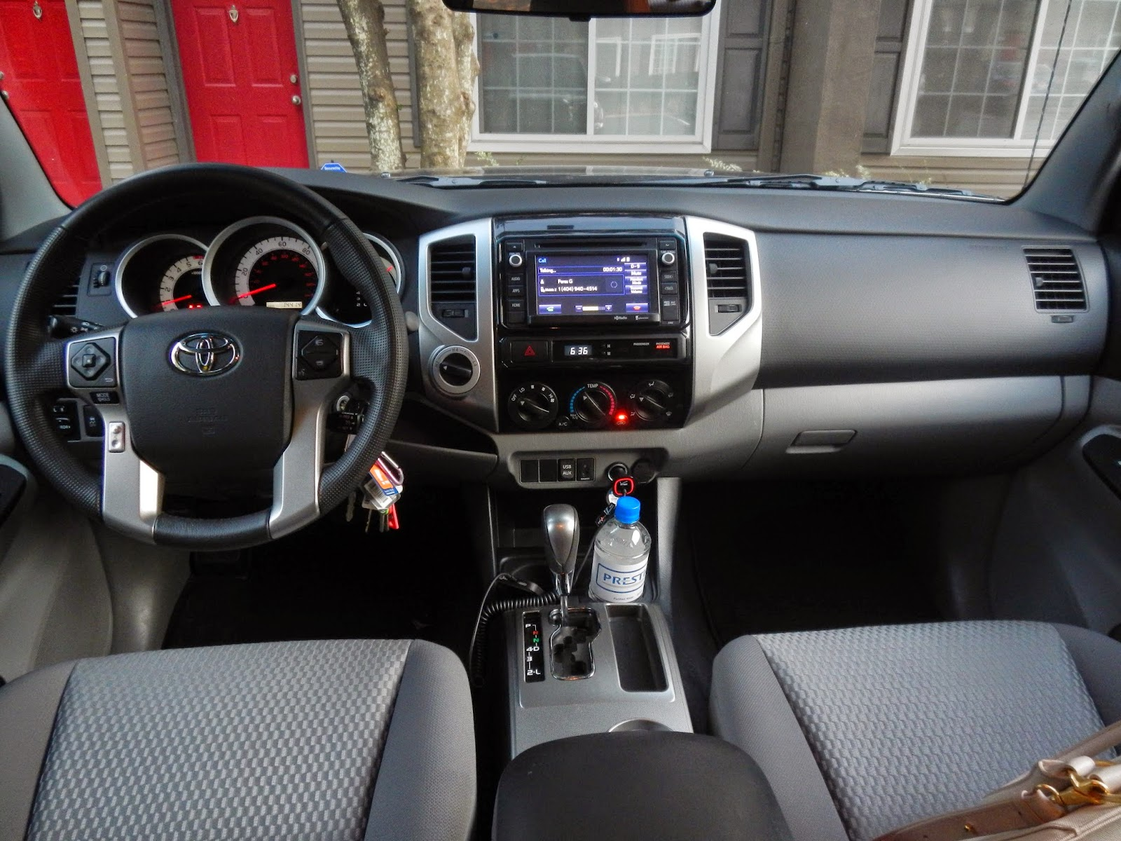 The 2014 Toyota Tacoma Offers An Interior Thatu0027s Clean, Functional And  Well Suited To The Needs Of Truck Owners. Instruments And Controls Are Easy  To See ...