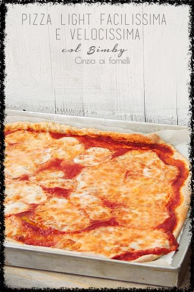 pizza light velocissima col bimby