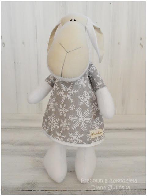 Świąteczna owieczka :)