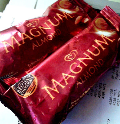 Selecta Magnum with Almonds