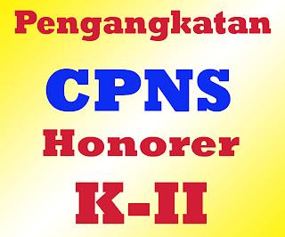 Jadwal Penerimaan CPNS Honorer Kategori 2 K2