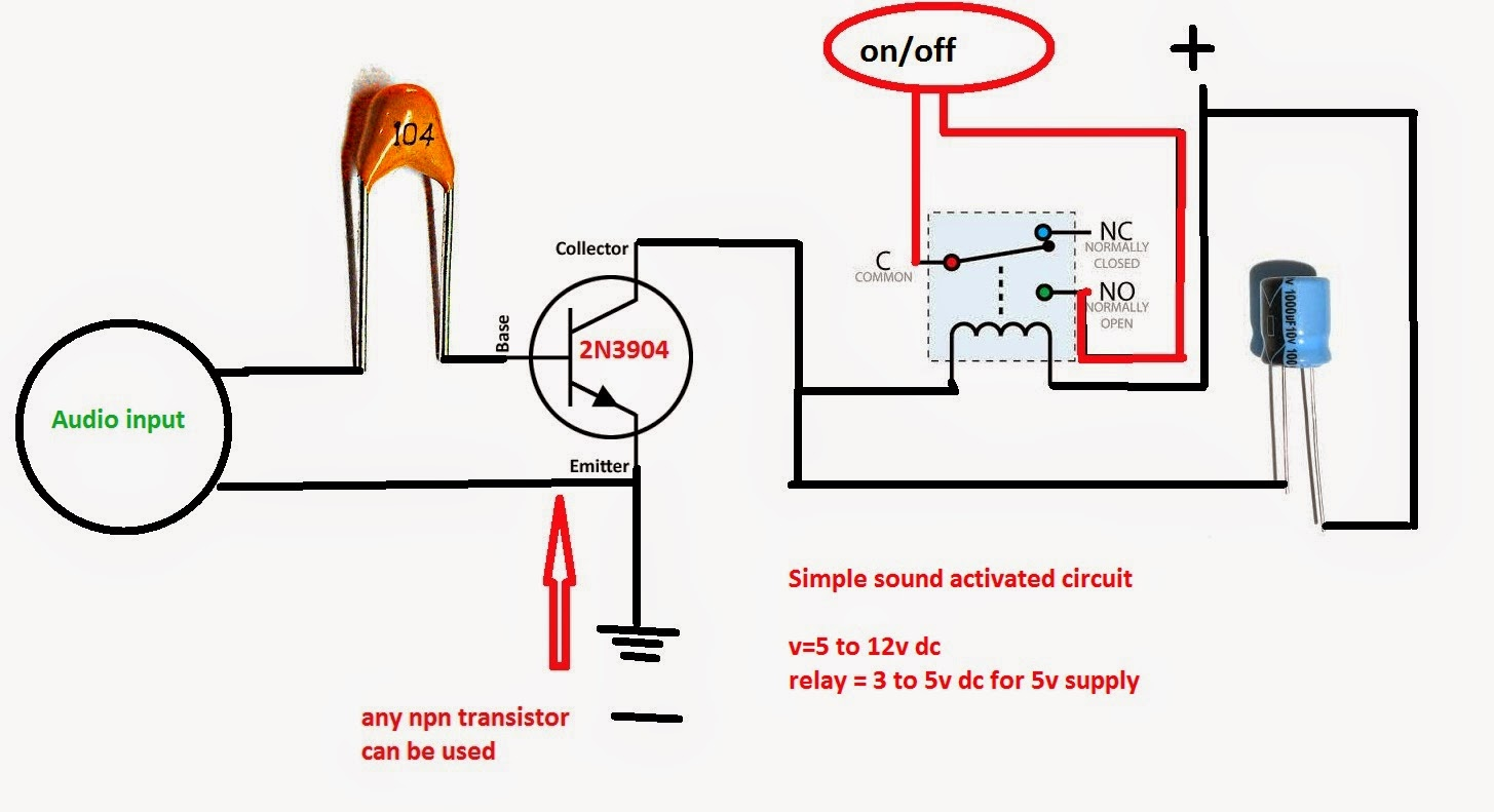 Bluetooth Fm Transmitter My Electronic Circuits Relay Switch Lock Will Be Remain Open While Ringing Continues